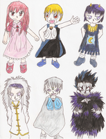 Zatch Bell Characters by aurora-wolf