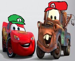 Super Lightning and Super Mater by Prince5s