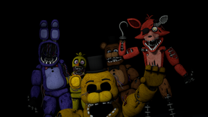 The Withered Crew by HotDogBrothers