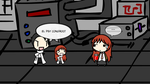 SWLC: Okabe x Kurisu by Disgaea4everdood