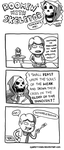 Roomin' with Skeletor by Confettiman