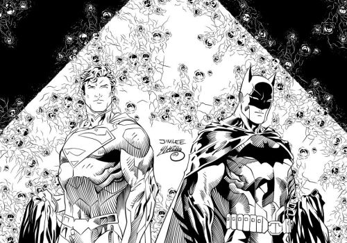 Batman and Superman New 52 Ink #1 by SWAVE18