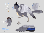 Electric Snouts and Chin Nubbins: Plumed Drake by SlateGray