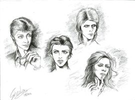 Bowie: Sketch 1 by girl-skeleton