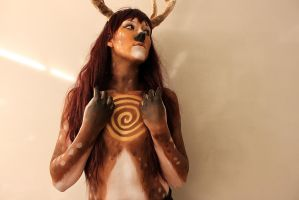 Deer of Life by MUA-Maano