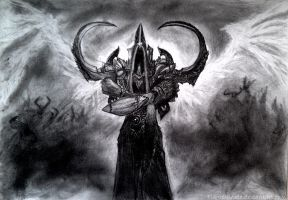 Malthael - Diablo 3: Reaper of Souls by Flamecandle