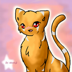 It's a Kitteh o.o'' by strayx