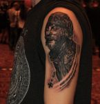 Ottawa Tattoo Expo-Portrait from Kelly's heroes by Zsil-works