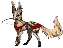 Auction - Warhound adopt CLOSED by TaraviAdopts