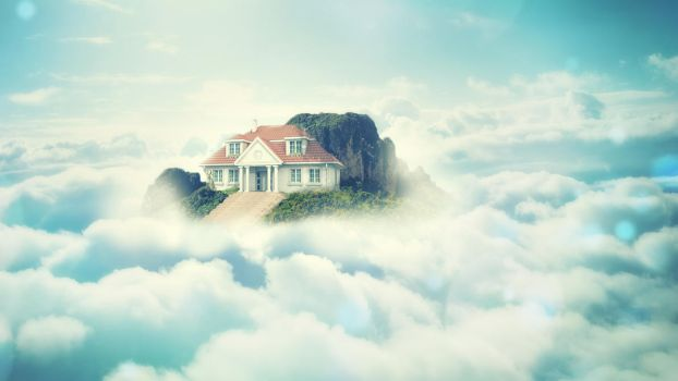 Sky House Wallpaper by Mihil