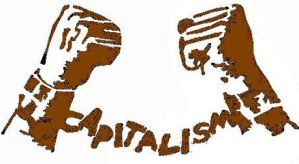 Capitalism Stencil by Mr-Apathy