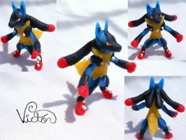 Mega Lucario by VictorCustomizer