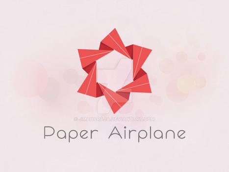 Paper Airplane by JMaharaja