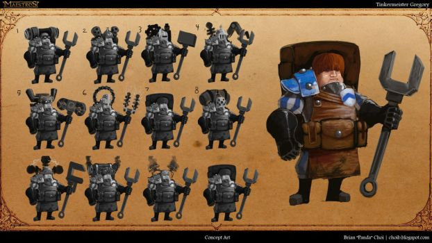 TInkermeister Gregory Concept Art by PandaProduction