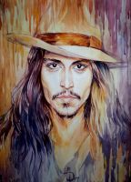 Johnny - Shaman by MarinaCardoso