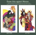 WoW - Draw This Again Meme 2 by LadyGhostDuchess