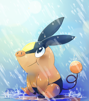 Tepig by PinkGermy