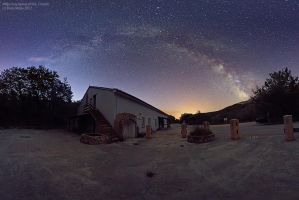 Milky way Otok Krk by BorisMrdja