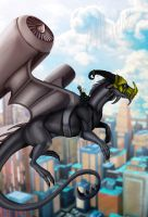 Chasing the Sun by Galidor-Dragon