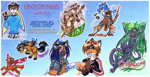 COM: 2014-2015 Badges by carnival