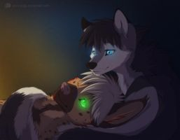 Wolves - best pillows. by Sidgi