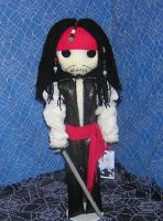 Jack Sparrow Rag Doll by Zosomoto