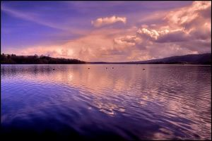 Blagdon lake again by AngiWallace
