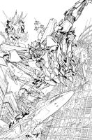 Reign of Starscream 01 cover by markerguru