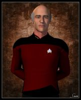 Captain Jean-Luc Picard by celticarchie