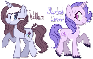 [CLOSED] - Flower Sisters by Featheries