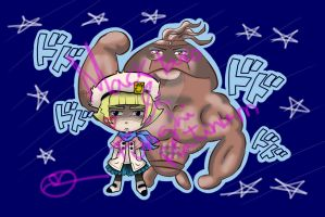 Macktaro and Funghi Platinum by 402ShionS3