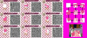 Pinkie Pie Animal Crossing Patterns by SeiRyuSeijin