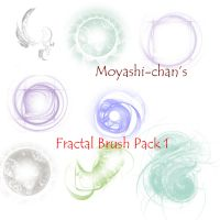 Fractal Brush Pack 1 by Moyashi-chan