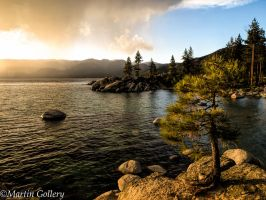 Sand Harbor Sunset by MartinGollery