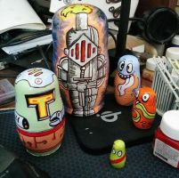 Russian Doll Mod - Knight and monsters by chaitanyak