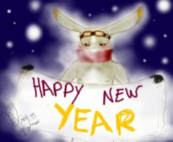 Happy New Year 2010 by Midreky