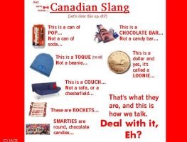 Canadian Slang by I-Am-Canadian-Eh