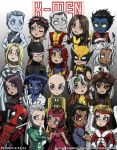 X-Men Chibis Poster by Zyephens-Insanity
