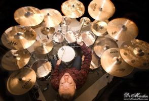 Overhead Drum Shot by drmarten
