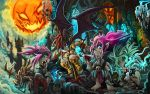 Halloween 2014- Gnomepires by knight-mj