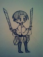 Tiny Levi by Chiarochi