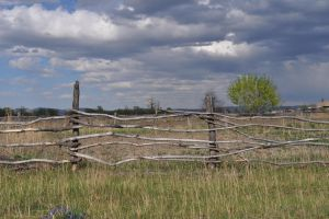 Old fence by Korolevatumana