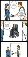 Resident Evil 5 comic 12 by Kairi-Moon
