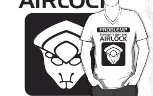 Throw it Out the Airlock in Black by VHCrow