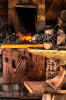 Blacksmith's Workstation by Caitiekabob