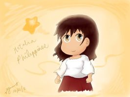Hetalia Chibi Philippines by emilialight