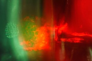 Green and Red glass 2 by MissUmlaut