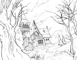 Haunted Church by robtheR0B0T
