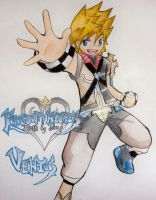 Ventus: BBS Poster colored by Monksea