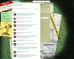 Twitter page layout 4 teacher by trixmatic